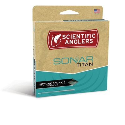 Scientific Anglers Sonar Textured Titan Sink 3/Sink 5/Sink 7 Fly Line