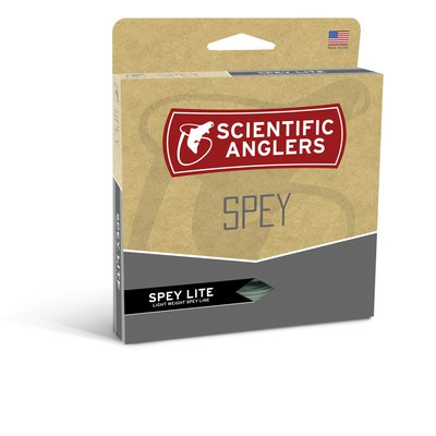 Scientific Anglers Spey Lite Scandi Integrated Willow/Black