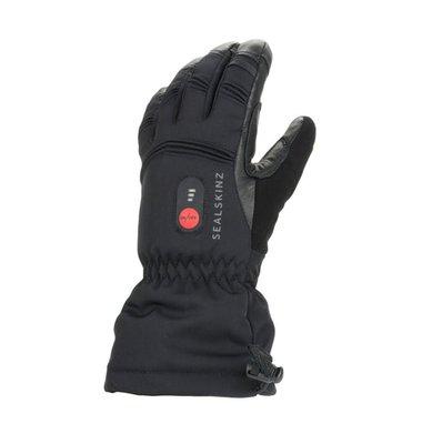 Sealskinz Waterproof Heated Gauntlet Black