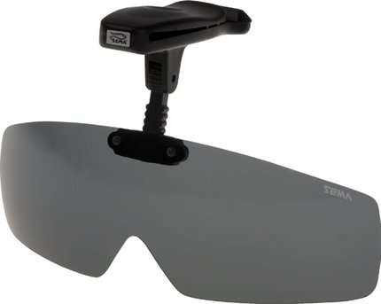 Sema Leech Adjustable Visor Clip-On Polarized Sunglasses