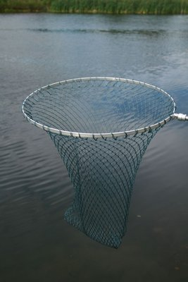 Sharpes Round Framed Trout Telescopic Landing Net