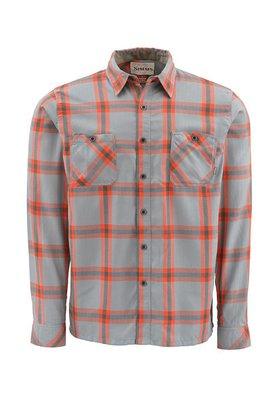 Simms Black's Ford Flannel Shirt