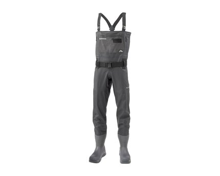 Simms ExStream Bootfoot Vibram Sole Chest Waders Black