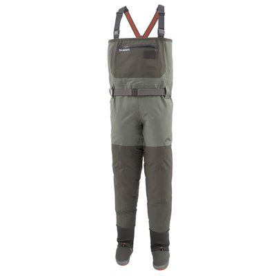 Simms Freestone Stockingfoot Waders Dark Gunmetal