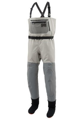 Simms Headwaters Pro Breathable Chest Waders Stockingfoot Boulder