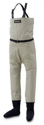 Simms Kid's Gore-Tex Breathable Chest Waders Stockingfoot