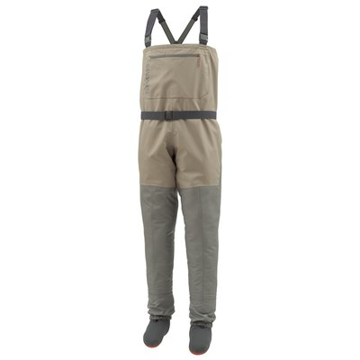 Simms Tributary Stockingfoot Chest Waders Tan