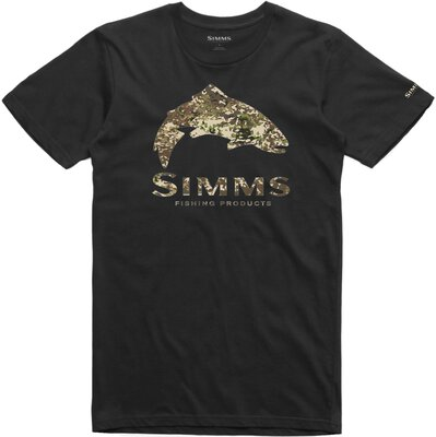 Simms Trout River Camo T-Shirt