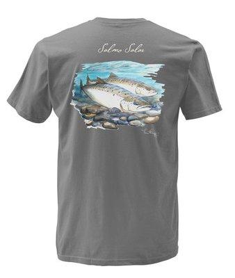 Simms Weiergang Atlantic Salmon T-Shirt