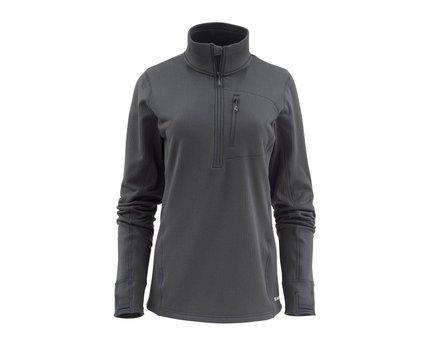 Simms Womens Fleece Midlayer 1/2 Zipper Jacket