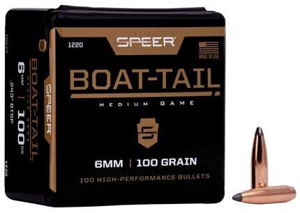 Speer .243 85gr Spitzer Boat Tail  Soft Point X 100