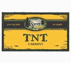 Speer .243 70gr TNT Hollow Point X 100