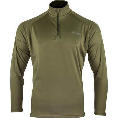 Speero Armour Half Zip Top Green