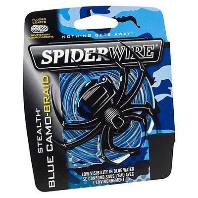 SpiderWire Stealth Smooth Blue Camo Braid Line