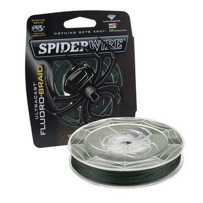 Spiderwire Ultracast Fluoro Braid - Green