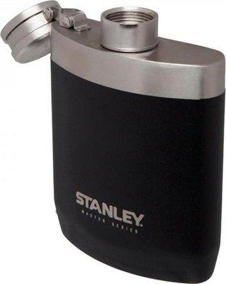 Stanley Master 0.23L Flask Foundry Black