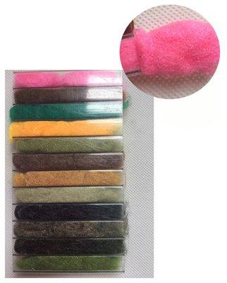 Stillwater Antron 12 Colour Dubbing Selection