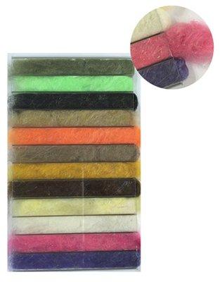 Stillwater Czech Nymph UV 12 Colour Dubbing Selection