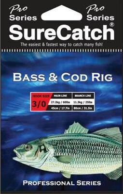 Surecatch Bass + Cod Rig Sz2/0 25lb