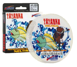 Tubertini Tatanka Brown Flourocarbon 150m