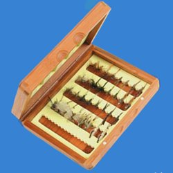 Turrall Classic Bamboo Fly Box