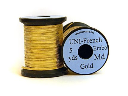 UNI Embossed Tinsel Gold ME