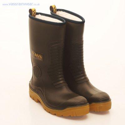 Vass R-Boot Fur Lined Waterproof Boot Khaki