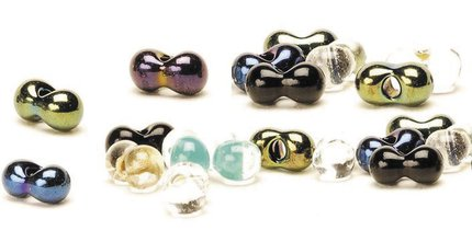 Veniard Glass Damsel Twin Eye Beads