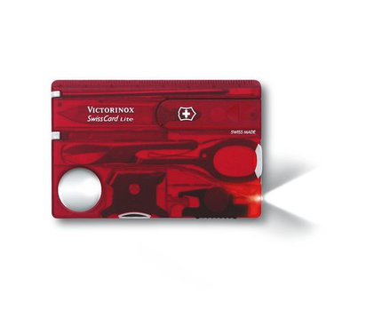 Victorinox Swiss Card Lite Red in Blister