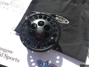 Preloved Vision Kalu Black #5/6 Trout Fly Reel - Used