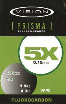 Vision Prisma 9.0 Fluorocarbon Leader