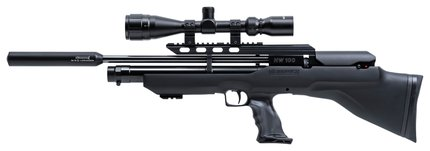 Weihrauch HW100 Bullpup Black/Grey Synthetic Air Rifle