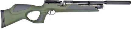 Weihrauch HW100 Green/Grey Synthetic Stock Air Rifle