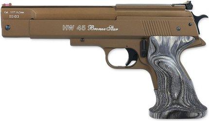 Weihrauch HW45 Bronze Star Air Pistol
