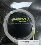 Airflo Floating Tip - Clear