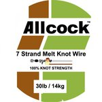 Allcock Melt Knot Wire 40lb