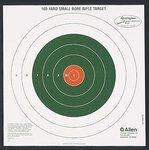 Allen Bullseye Style 100yd Sight-in Target 12 Pack