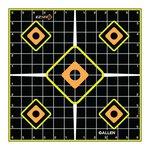 Allen Splash Adhesive Grid Target 12in 5 Pack