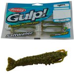 Berkley Gulp! Saltwater Shrimp 2in Marsh Green 8pc