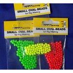 Breakaway Black Small Oval Rig Beads (1000)