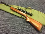 Preloved BSA Lightning .22 Air Rifle With Scope, Silencer & Bag - Excellent
