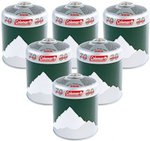 Coleman C500 Gas Cartridge 6 Pack