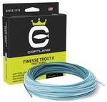 Cortland Finesse Trout II Heron/Light Blue Floating Fly Lines