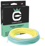 Cortland Tropic Compact Line Pale Yellow/Aqua Blue Floating Fly Lines