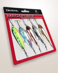 Daiwa Megaforce M-Raider Lure Kit 5pc