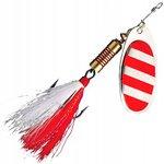 DAM Spinner FZ Dressed Stripe Silver/Red