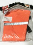 Preloved Decoy Ex Display Dog Waistcoat With Reflect. Band Orange PVC S