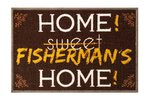 Delphin Fishermans Home Rug 60x40cm