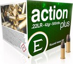 Eley .22LR ACTION PLUS 42gr (500pc)