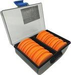 Fladen KingCarp 10 x EVA Rig Winders in a Tackle Box